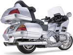 Cobra GL1800 Slashdown Exhaust Mufflers