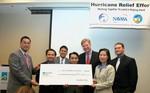 Presentation of $200,000 Grant