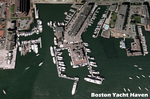 Aerial View of the Boston Yacht Haven
