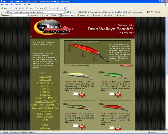 Anglers Can View and Purchase Conveniently Online