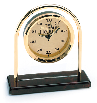 hour billable gifts clock lawyers funny lawyer desk gift awesomely brass hours law clocks watches humor legal office 10ths issues