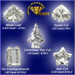 Unique Diamond Shapes from Israel-Diamonds.com