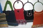 Vintage-sweater handbags