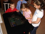 Kids Playing With Dream Arcade