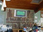 Behind the bar wine storage