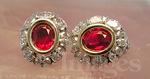 Award winning Burmese Ruby Earrings