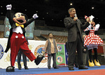 Mickey helps announce Elite Championship