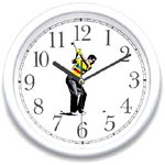 WatchBuddy® Clock - Golfer Teeing Off