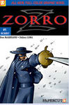 Papercutz Zorro Graphic Novel #1 Scars!