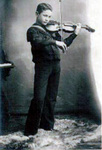 Mischa Elman as a child prodigy in Cherkassy, Ukraine at the turn of the last century