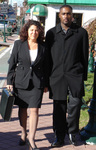 Attorney Susan Chana Lask and Albert Florence at New Jeresy Federal Court