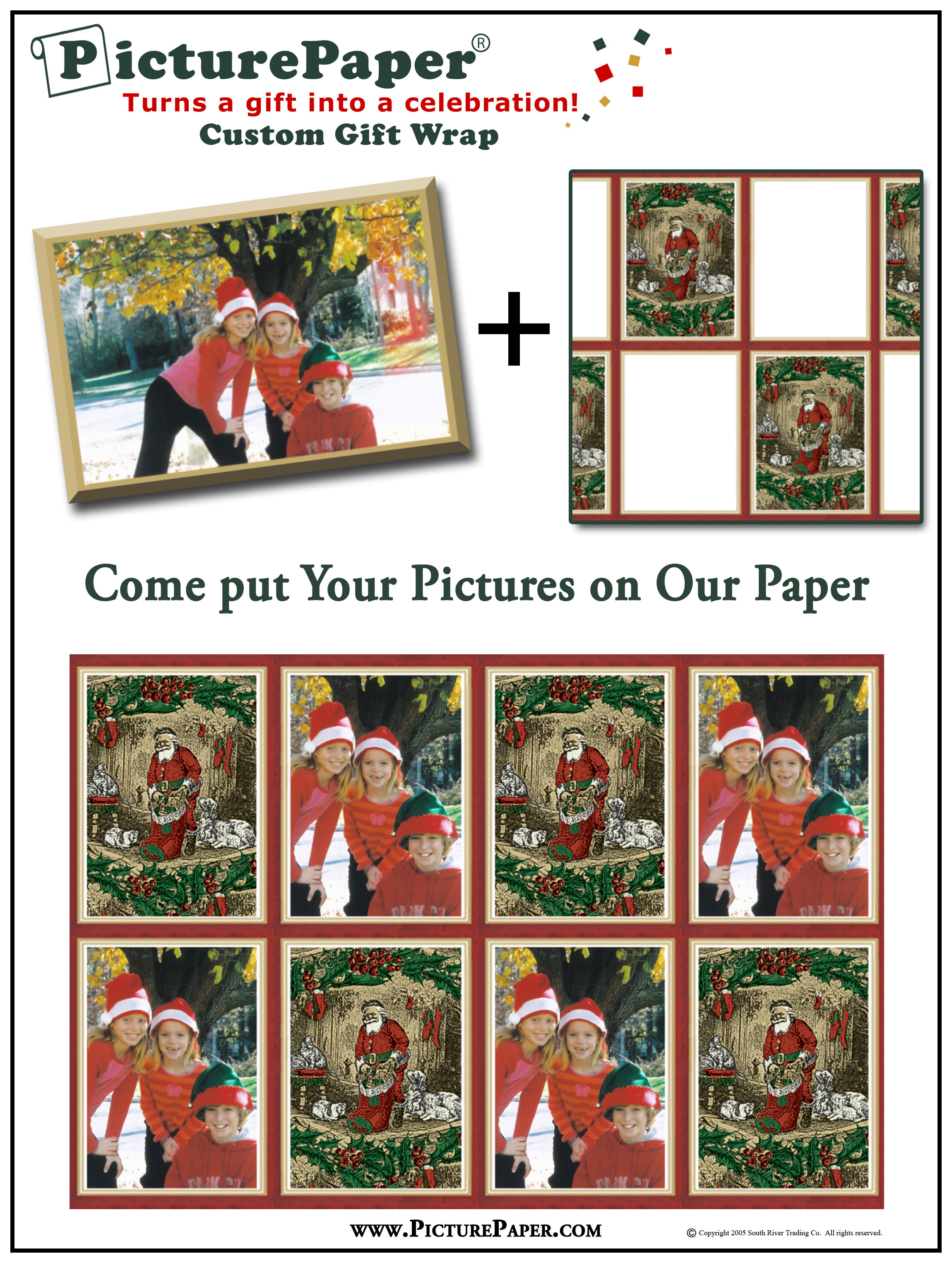 Picturepaper Customized Wrapping Paper Answers Hollywood