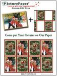 PicturePaper® Gift Wrap Santa