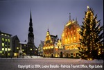 Riga Christmas in City Hall Square