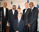 Kareem Abdul-Jabbar, Bill Russell, Jett  Lucas,  Bill Walton, Nate Thurmond and George Lucas