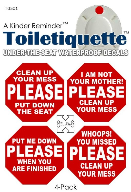 Bathroom Etiquette company launches toilet etiquette product