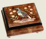 Agave Custom Musical Jewelry Boxes - Gamble's Quail