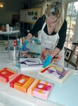 Releasing the painter within at Artista Creative Safari for Women