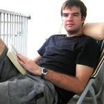 Daniel Hinkley relaxing in Bangkok