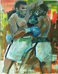 Muhammad Ali v Larry Holmes