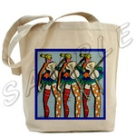 Dancing Beauty Tote