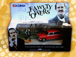 PBS Exclusive - Corgi Limited Edition Fawlty Towers 30th Anniversary Austin 1100 featured in