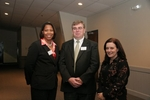 Traci Hodges (Gala Chairperson), Dave Shildmeyer (President of Board of Directors), Nancy Schaaf (Executive Director)