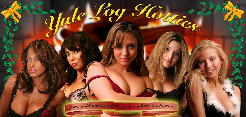 move over victoria u0027s secret yule log hotties turns the
