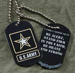 """""""Scripture Inspired Hero-Tags™ Offer American Soldiers Much More Than Just """"Name, Rank, and Serial Number"""""""""""
