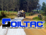 The Soiltac® dirt road stabilization product has been proven to control dust and stabilize poor soils on unpaved roads.