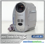 Use either a sophisticated video camera or a basic web cam to capture auction video.