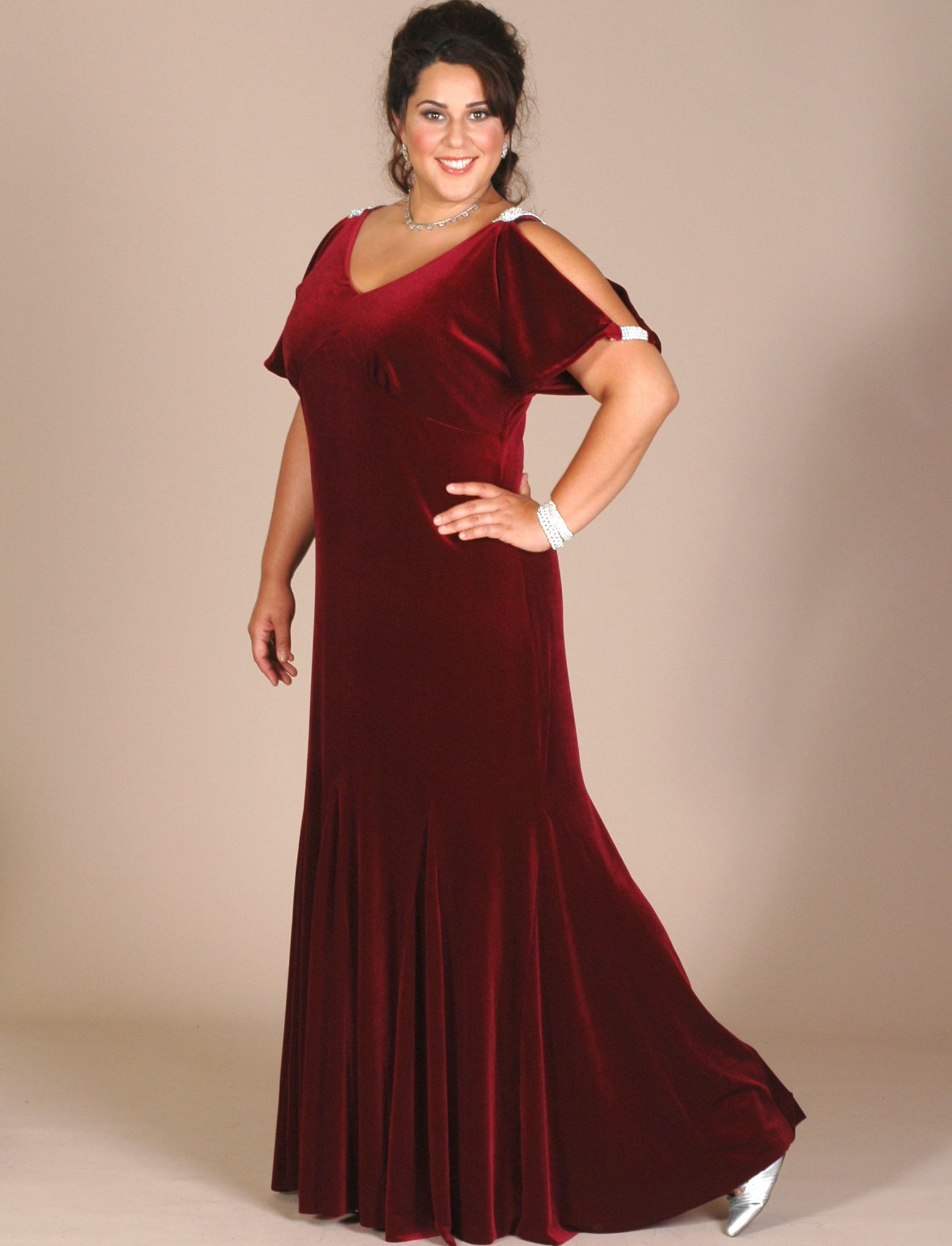 Velvet Plus Size Dresses Best Dressed
