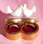 Sinclair Limoges Double Ring Box