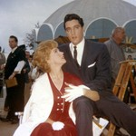 "Elvis Presley and actress Joan O'Brien from the new DVD: ""Elvis Presley At The Seattle World's Fair"""
