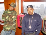 FUBU Co-Founders, Keith Perrin (l) and Damon John (r)