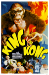 King Kong, 1933 (RKO). Style B, One-Sheet