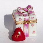 Pink Heart Gift Box