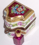 Sinclair Limoges Gift Box with Perfume Bottle