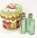 Sinclair Limoges Gift Box with Perfume Bottles