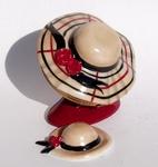 Standing Burberry Hat Box