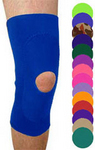Yortho knee braces come in fourteen color choices, including royal blue.