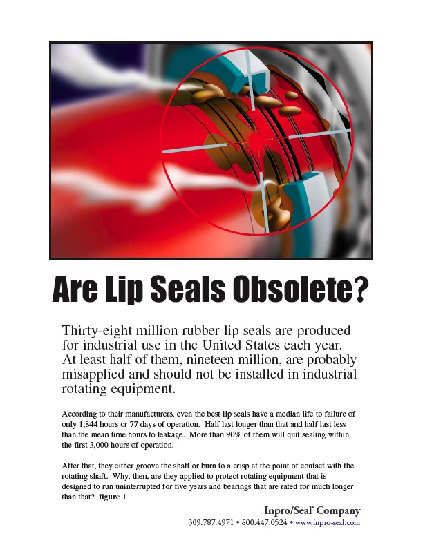 Are Lip Seals Obsolete