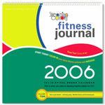 Streaming Colors Fitness Journal 2006 -  front cover