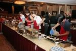 Volunteers Making Pancakes