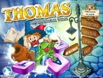 Title screen of Thomas and the Magical Words
