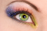 Dust glitter is FDA approved for the eyes