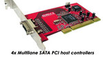 Multiplane SATA PCI Host controller for MAC