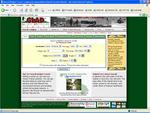GLAD Travel Website Screenshot