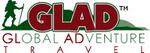 GLAD (GLobal ADventure) Travel Logo