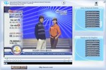 ScreenShot of TV playing a station